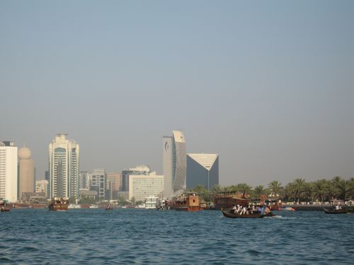 Dubai with views from the Water